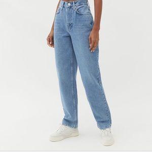 UO high waisted baggy jean